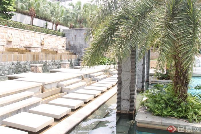 海南三亚文华东方地块景观设计图-肾蕨椰子水静安区78号酒店建筑设计图片
