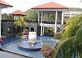 喷泉水景,景观水池,景观钵