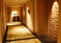 走廊,過道,雙開門,邊柜,石材鋪裝