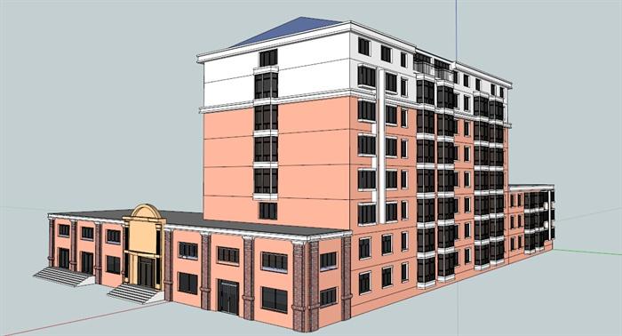 【原创】集体宿舍楼的建筑设计_毕业论文设计