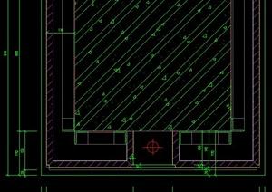 某大堂装饰柱设计cad施工详图