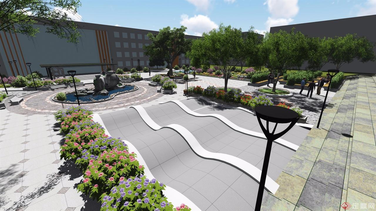 校園文化廣場設計