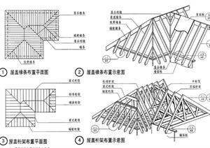 建筑節點屋頂設計PDF詳圖