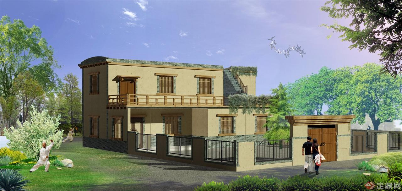 乡村房屋设计