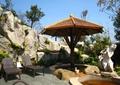 人物雕塑,躺椅,伞亭,景石假山,石头,自然石