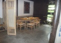 桌椅,地面铺装,屏风,装饰柱,住宅空间