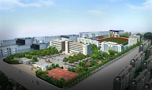 柳州市壶西实验中学校园景观设计