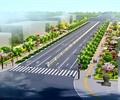 韓城芝川新區道路景觀設計