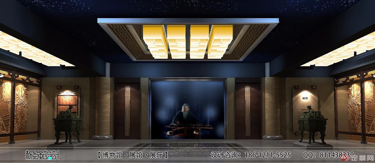 孔子文化展厅-北京禾美装饰设计有限公司