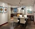 桌椅,吊灯,灯饰,木地板,挂画