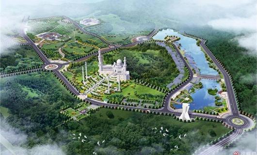 某清真寺公园景观规划设计