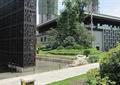 灯箱,地面铺装,垃圾桶,景观树,水池景观,住宅景观