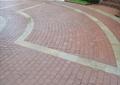 地面铺装,砖块铺装,路灯,信箱