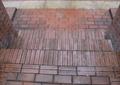 地面铺装,砖块铺装,台阶