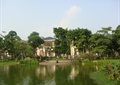 水体景观,水生植物,景观树,住宅景观