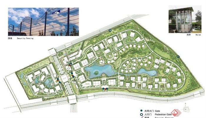 某创意产业园区景观规划设计PDF文本