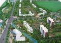 住宅景观,小区规划,道路,植物,沙盘模型