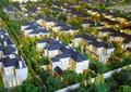 住宅建筑,景觀樹,沙盤模型