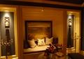 落地窗,壁灯,花瓶插花,摆件,装饰品,抱枕,别墅空间