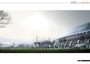 體育城建筑規劃設計
