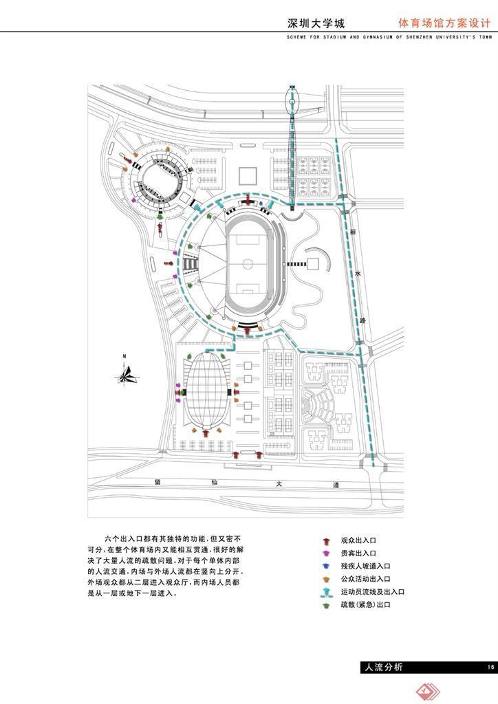 体育城建筑规划设计-阿童木建筑设计工作室