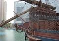 海盗船,水池水景