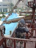 水池景观,海盗船