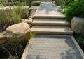 景石,景石石头,水池,地面铺装,台阶,自然石