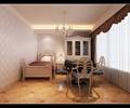 麻将机,单人床,窗帘布艺,吊灯,柜子,别墅空间