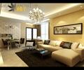 沙发,茶几,地毯,吊灯,餐桌椅,客厅