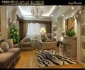 餐桌椅,地毯,沙发,吊灯,餐厅