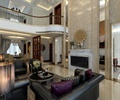 客厅,沙发组合,电视背景墙,装饰品,茶几