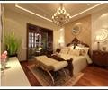 卧室,床,床榻,床头柜,吊灯