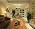 客厅,沙发茶几,装饰品,电视柜,电视背景墙