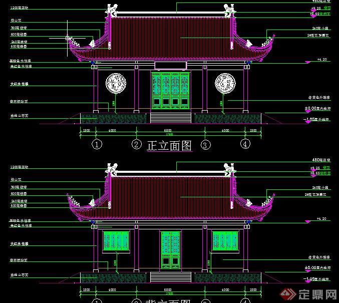 一层民房建筑设计图纸