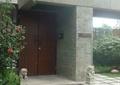 入户景观,入户门,雕塑小品,台阶踏步