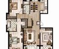 餐厅,客厅,厨房,沙发,沙发茶几,阳台,户型图