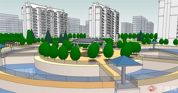 小区景观规划设计方案