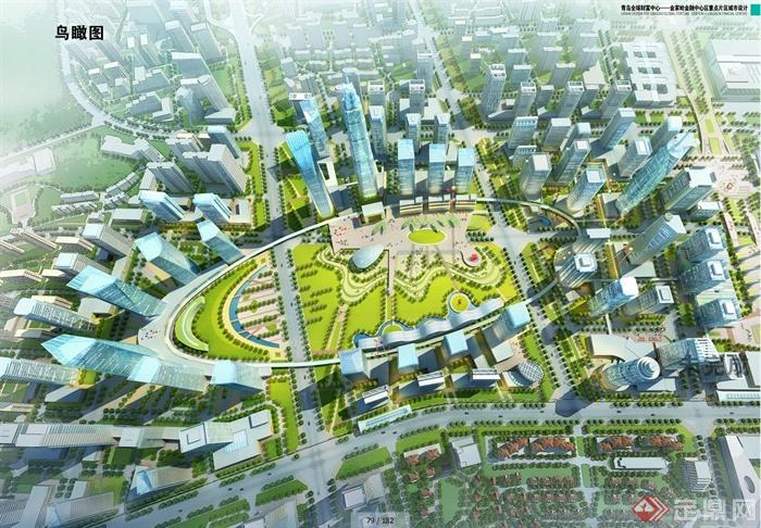 金家嶺金融中心區重點片區城市設計jpg方案圖[原創]