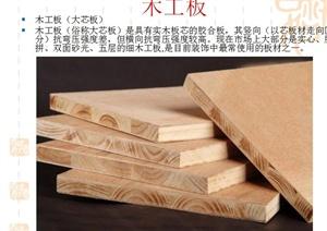 家具裝飾板材相關介紹PPT文本