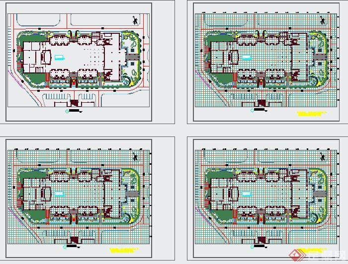 某东南亚住宅小区景观设计cad施工图
