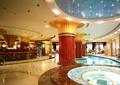 酒店大堂,酒店大厅,圆柱,浴池