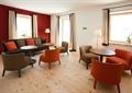 酒店休息室,休闲桌椅,地灯