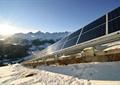 阳光板,山体景观,雪景