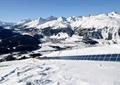 山体景观,雪景