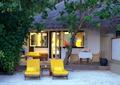 别墅庭院,院落景观,休闲椅