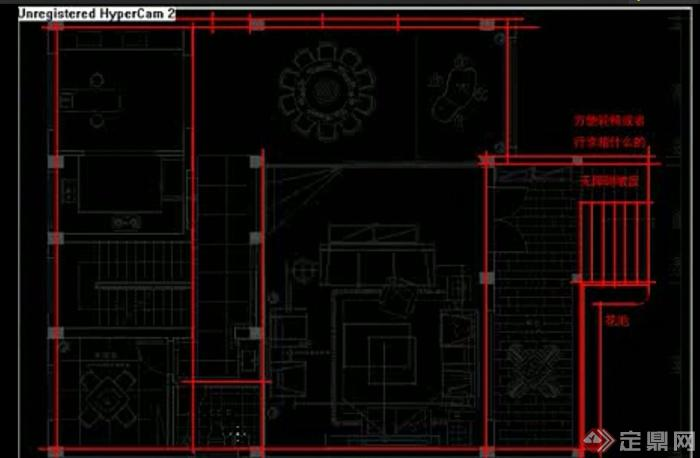 别墅 住宅空间室内平面布局设计视频讲解图片