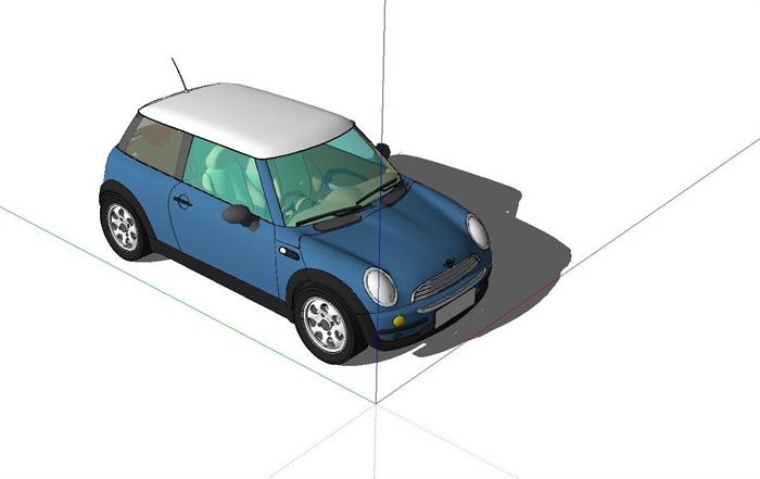矢量图mini汽车