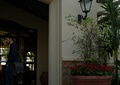 入口景观,花钵,石材门套,壁灯