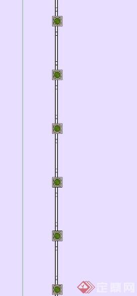 欧式石材质栏杆su模型[原创]